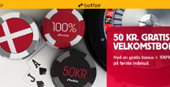 Betfair casino bonus og anmeldelse