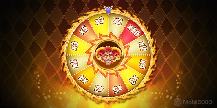 Fire Joker Bonus Feature Wheel of Re-Spins