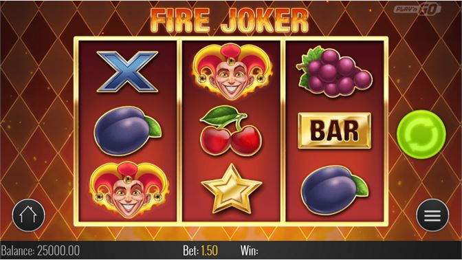 Fire Joker Symboler