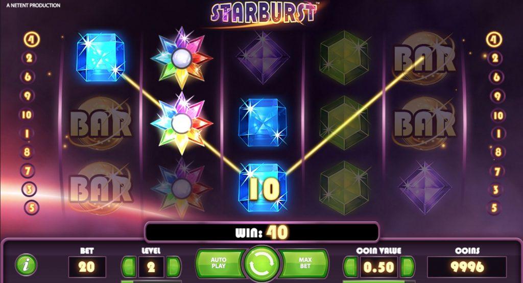 Starburst Wild Feature