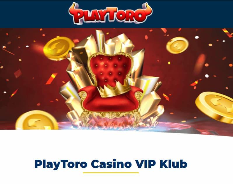 PlayToro Casino VIP Klub